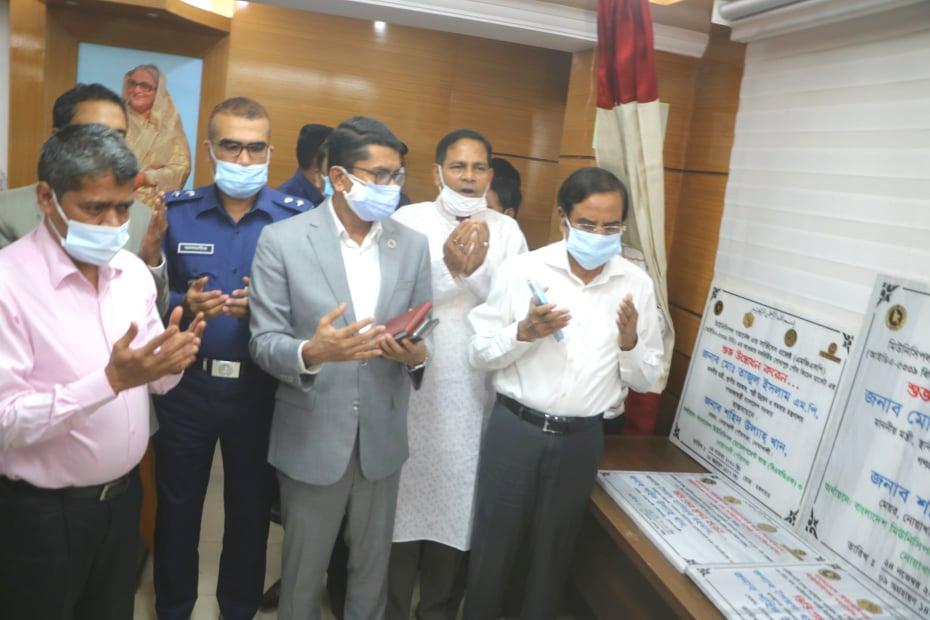 নোয়াখালী পৌরসভায় ৩টি উন্নয়ন প্রকল্প উদ্ভোধন